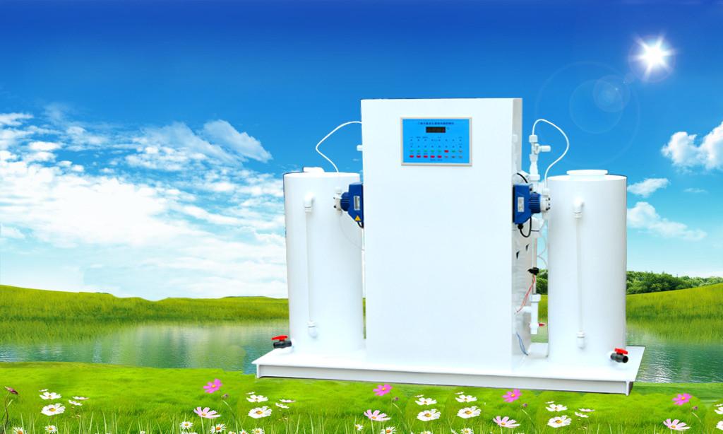 医院废水消毒处理设备,一体式二氧化氯发生器